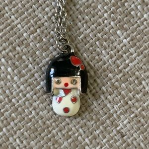 Japanese Doll Necklace